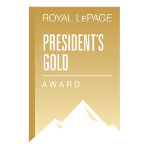 Presidents Gold Award Recipient