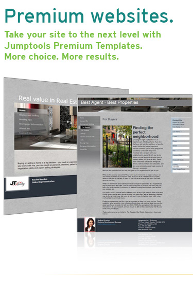 Take your site to the next level with Jumptools Premium Templates. More choices. More results.